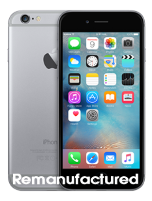 Picture of Refurbished iPhone 6 16GB Space Grey (Remanufactured)