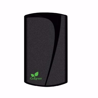 Picture of Trade iGo Green 2.1A EU Mains Charger with 1m USB Charge and Sync Cable in Black