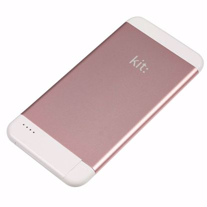 Picture of Kit Kit Executive 4100mAh Powerbank with Mfi Apple Lightning Cable in Rose Gold