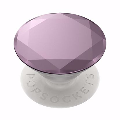 Picture of Popsockets PopSockets PopGrip for Smartphones and Tablets in Metallic Diamond Lilac