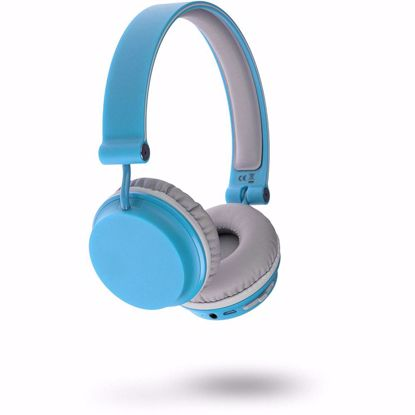 Picture of KitSound KitSound Fresh Metro Wireless Bluetooth Headphones in Blue