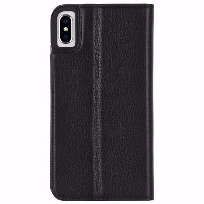 Picture of Case-Mate Case-Mate Wallet Folio Case for Apple iPhone XS/X in Black