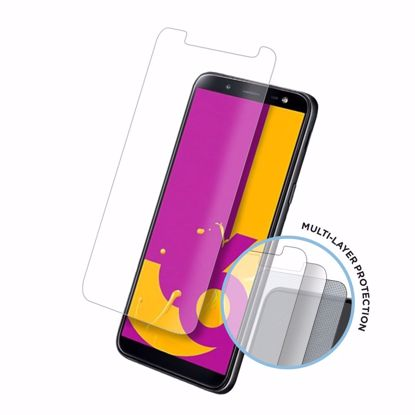 Picture of Eiger Eiger Tri Flex High-Impact Film Screen Protector (2 Pack) for Samsung Galaxy J6 (2018) in Clear