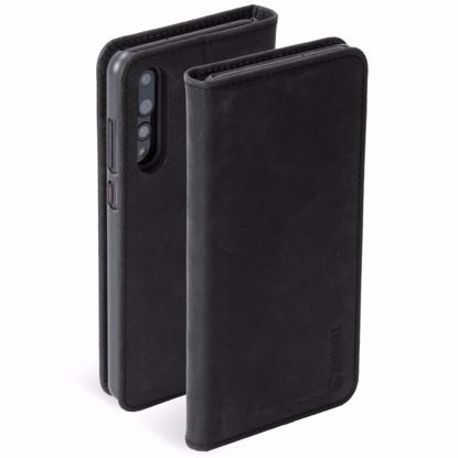 Picture of Krusell Krusell Sunne 4 Card Folio Case for Huawei P20 Pro in Vintage Black