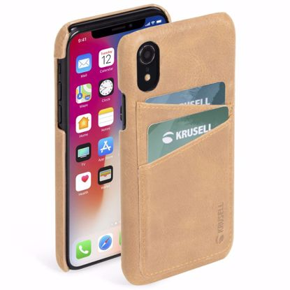 Picture of Krusell Krusell Sunne 2 Card Cover Case for Apple iPhone XR in Nude