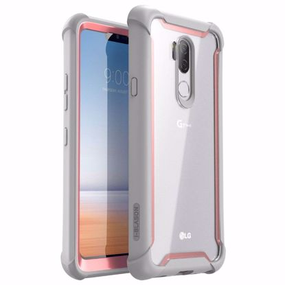 Picture of i-Blason i-Blason Ares Clear Case for LG G7 ThinQ in Pink