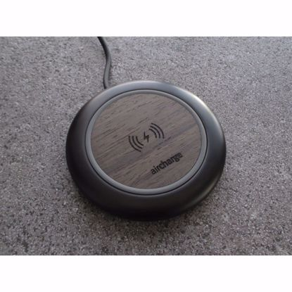 Picture of Aircharge Aircharge Executive Qi Wireless Charger in Ebony Wood