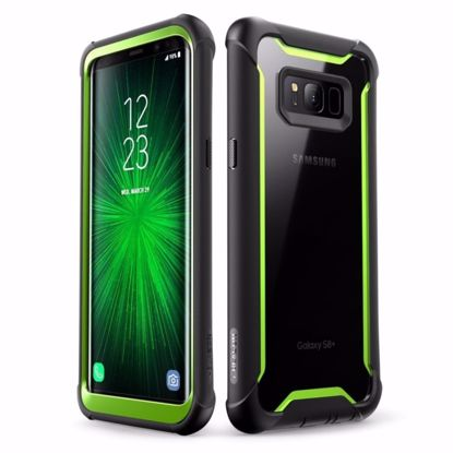 Picture of i-Blason i-Blason Ares Case for Samsung Galaxy S8 in Black/Green