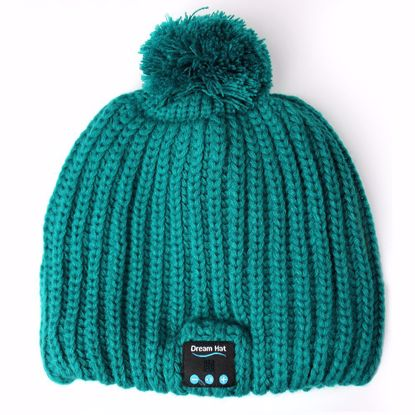Picture of Dream-Hat Dream-Hat Bluetooth Beanie Hat in Green