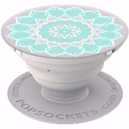 Picture of Popsockets PopSockets PopGrip for Smartphones and Tablets in Peace Tiffany
