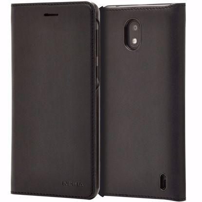 Picture of Nokia Nokia CP-304 Slim Flip Wallet Case for Nokia 2 in Black