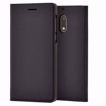 Picture of Nokia Nokia CP-302 Slim Flip Wallet Case for Nokia 5 in Black