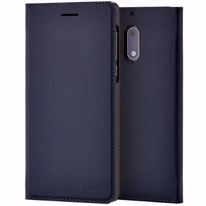 Picture of Nokia Nokia CP-301 Slim Flip Wallet Case for Nokia 6 in Blue