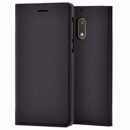 Picture of Nokia Nokia CP-301 Slim Flip Wallet Case for Nokia 6 in Black