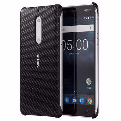 Picture of Nokia Nokia CC-803 Carbon Fibre Case for Nokia 5 in Black