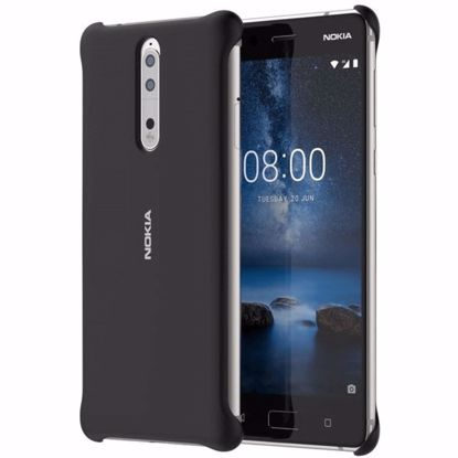 Picture of Nokia Nokia CC-801 Soft Touch Case for Nokia 8 in Black