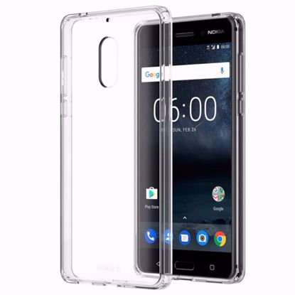 Picture of Nokia Nokia CC-703 Hybrid Crystal Case for Nokia 6 in Clear