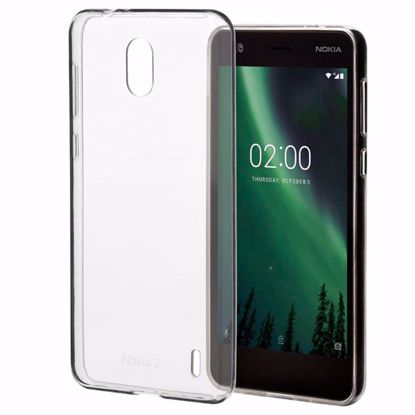 Picture of Nokia Nokia CC-104 Slim Crystal Case for Nokia 2 in Clear