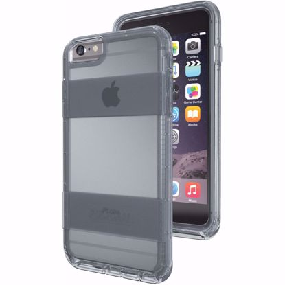 Picture of Pelican Pelican Voyager Rugged Case for Apple iPhone 6+/6s+ in Clear/Grey
