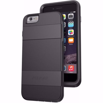 Picture of Pelican Pelican Voyager Rugged Case for Apple iPhone 6+/6s+ in Grey