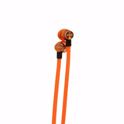 Picture of Pump Audio PUMP MIX In-Ear Earphones in Orange