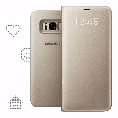 Picture of Samsung Samsung LED View Case for Samsung Galaxy S8+ in Gold