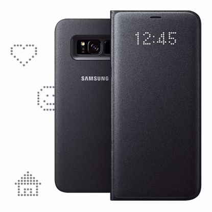 Picture of Samsung Samsung LED View Case for Samsung Galaxy S8+ in Black