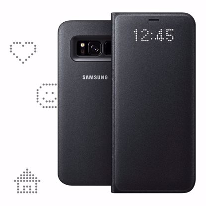 Picture of Samsung Samsung LED View Case for Samsung Galaxy S8 in Black
