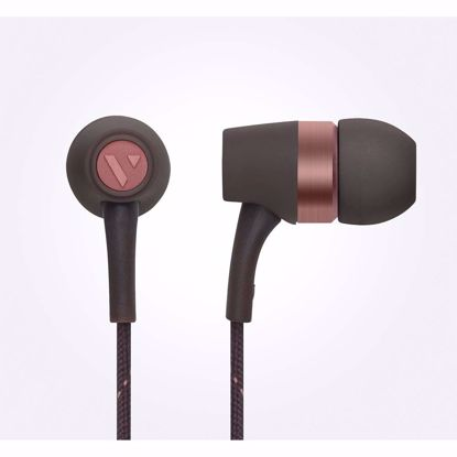 Picture of Vain VAIN STHLM Originals In-Ear Earphones with Mic and Remote in Raw Umber