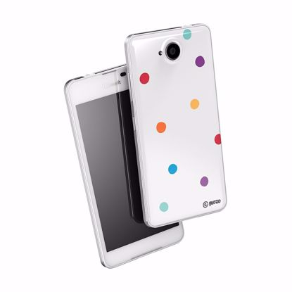 Picture of Mozo Mozo Back Cover Microsoft Lumia 650 Candy Dot