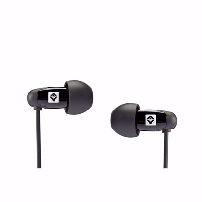 Picture of JAYS q-JAYS In-Ear Earphones for iOS Devices in Black