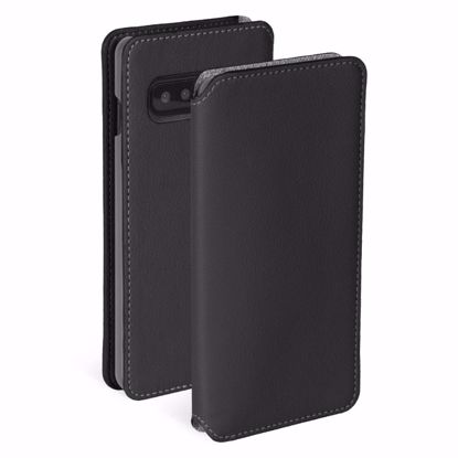 Picture of Krusell Krusell Pixbo 4 Card Slim Wallet Case for Samsung Galaxy S10 in Black