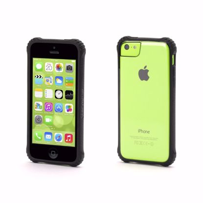 Picture of Griffin Griffin Survivor Core Case for Apple iPhone 5c in Black/Clear