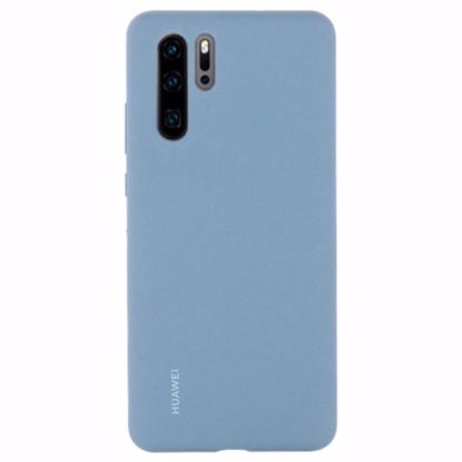 Picture of Huawei Huawei Silicone Protective Cover Case for Huawei P30 Pro in Light Blue