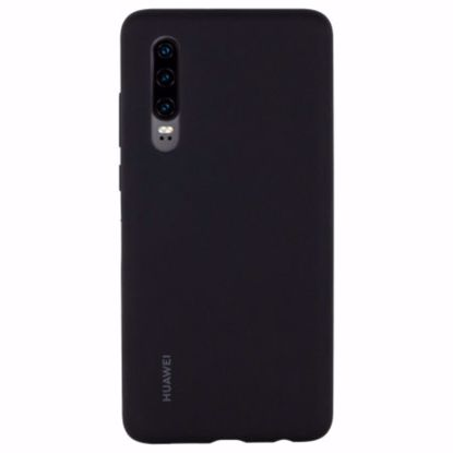 Picture of Huawei Huawei Silicone Protective Cover Case for Huawei P30 in Black