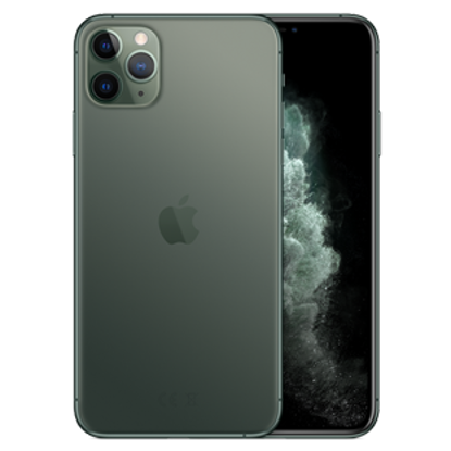 Picture of Apple iPhone 11 Pro Max 512GB Midnight Green (MWHR2B)