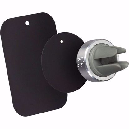 Picture of Kit Kit Magnetic Air Vent Car Holder for Universal Mobile Phones in Black