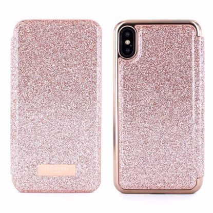 Picture of Ted Baker Ted Baker Folio Case for Apple iPhone XS/X in Glitsie