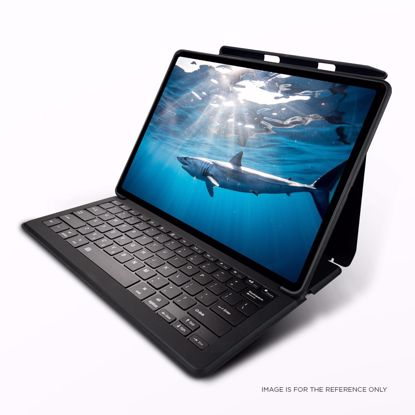 Picture of Mako MAKO GOTYPE QWERTY (UK) Rugged Keyboard Case for Apple iPad 10.2 (2019) in Black